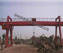 我公司为中原商再生资源有限公司生产MC16t-30m通用门式(电磁)起重机