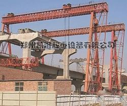郑州黄河三桥施工现场